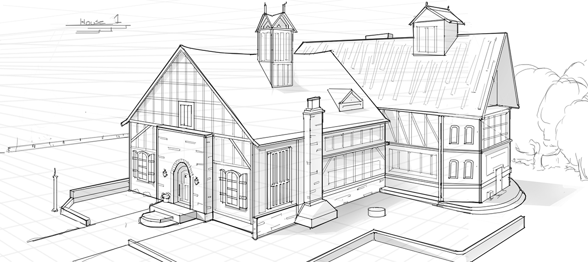 Design of a house